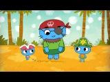 Мультфильмы для Малышей - Котики вперед! - Сокровища острова Попугая (Серия 12)