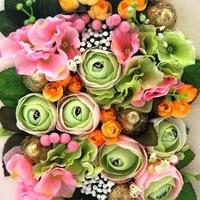Букет из конфет в барнауле заказать купить цветы поштучно в киеве