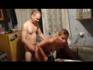 трахнул пьяную русскую шлюху