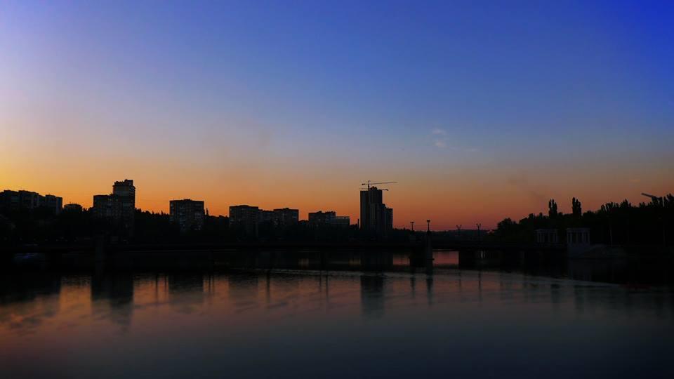 Закат над Кальмиусом