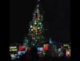 Восхитительное световое шоу на Спасской башне Казанского Кремля в формате 3D-mapping