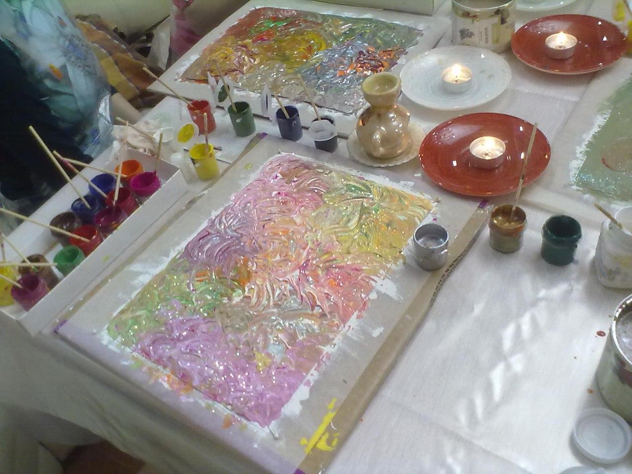 Афиша Саратов Пальчиковое рисование для взрослых и детей