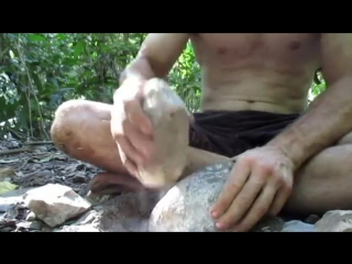Making A Celt Stone Axe From Scratch (including handle)