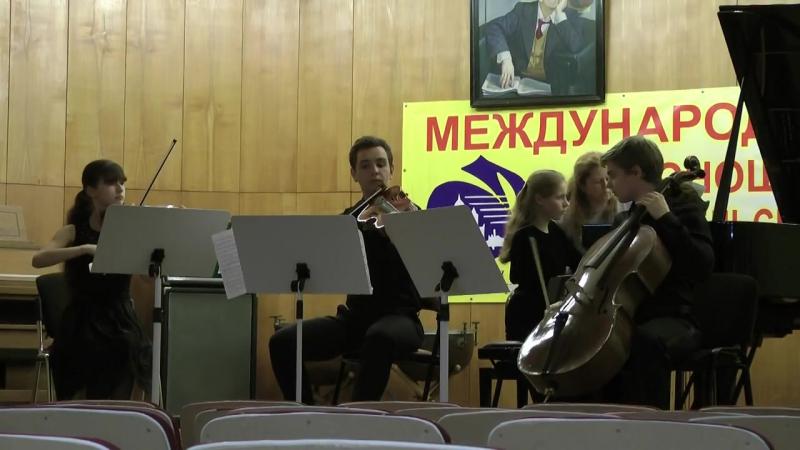 Дмитрий Ступишин и квартет Направника Sviridov competition 2015 (Napravnik, Dvorak, Schmitt)