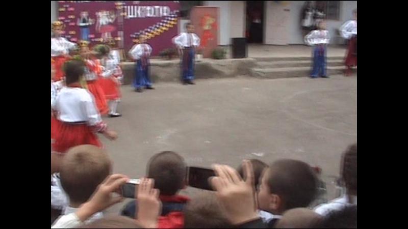Танец на последний звонок Степовое 2015