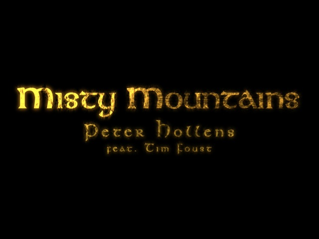 Misty Mountains - Peter Hollens feat. Tim Foust