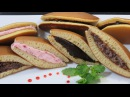 ЖЕНСКИЕ ХИТРОСТИ - ДОРАЯКИ Японские блины с начинкой из пасты АНКО Японская кухня cách làm bánh rán DOREMON