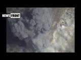 Российская авиация уничтожает замаскированный подземный бункер боевиков в провинции ХАМА