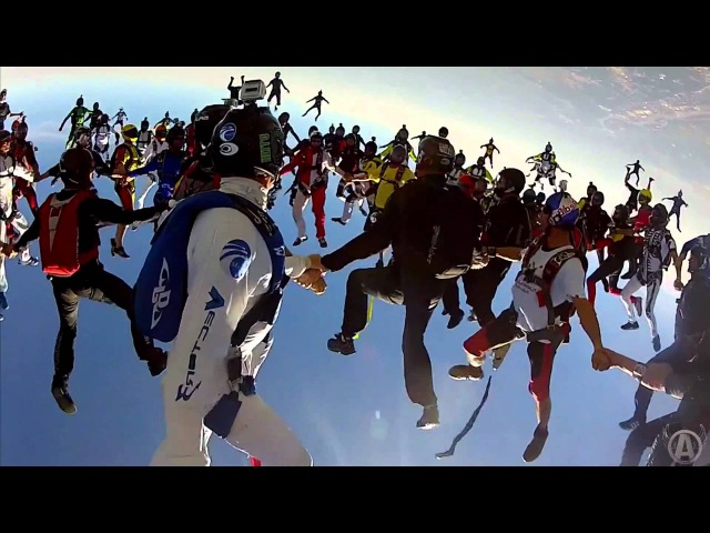 Adventures With Aviator - World Record Freefly Skydives With TJ Landgren (Chicago 2012 Head Down World Record)