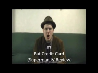 Nostalgia Critic A BAT CREDIT CARD?
