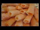 Рулетики из маринованной капусты с морковью