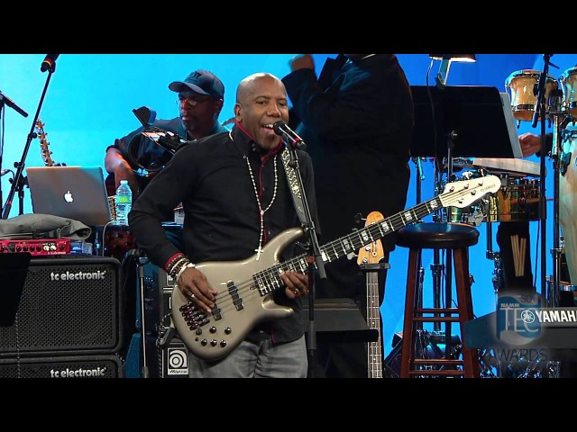 Nathan East Sir Duke performed live at the 30th Annual 2015 NAMMTEC Awards