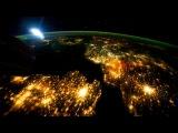 вид со спутника! космос очень красивый! смотреть только в HD!