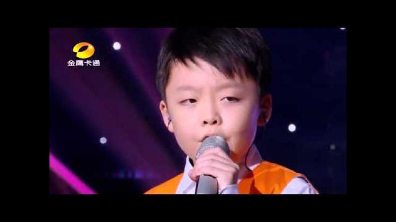 Incredible Little Boy and Girl sing You Raise Me Up by Josh Groban (Jeffrey Li Celine Tam)