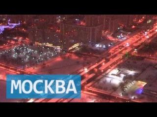 Синоптики и МЧС предупреждают о возможной сильной метели в Москве