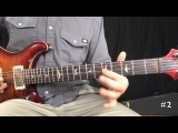 Country 12 bar blues practice solo - major to minor