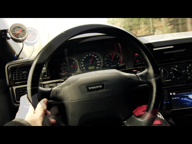 Volvo 850R T5 T5R Exhaust sound Accelerate Turbo Boost Racing Take off