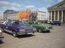 Парад ретро автомобилей в городе Минске посвящённый дню победы