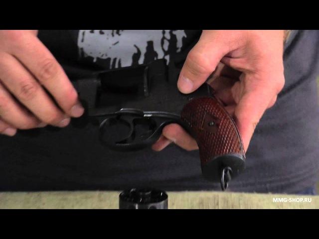 Револьвер Наган схп обзор, стрельба холостыми