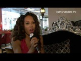 Jade Ewen - The UK (It's My Time) - Exclusive interview during her promotional tour!
