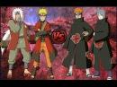 Наруто и Джирая VS Пейна и Конан в NARUTO SHIPPUDEN Ultimate Ninja STORM Revolution