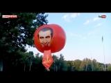 «До свидания, наш ласковый Миша»- Саакашвили запустили в небо в Одессе