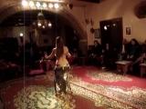 Samira Yasmin bellydancer-fan veil e Tabla