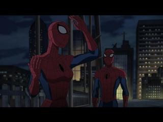 Совершенный Человек-Паук 3 сезон 9 серия - Паучьи вселенные 1 часть HD 720p