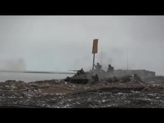 Подразделения арктической бригады Северного флота провели тактическое учение по противодесантной обороне с боевой стрельбой на о