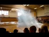 3D Голограмма Кита в Спортивном зале. _3D Hologram whale in the gym