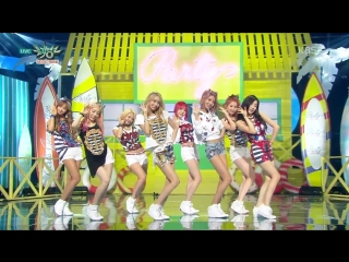 1080P 150710 MUSIC BANK SNSD 소녀시대 Check + PARTY