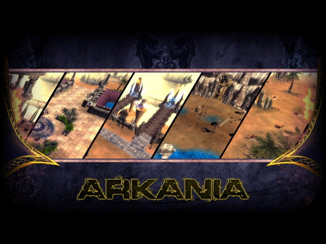 Arkania - Mu Online New Map Preview
