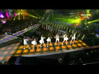 [HD 720p] 111231 Teen Top , Boyfriend , B1A4 , APink Dance Time Hot Stuff @ MBC Gayo Daejun 2011