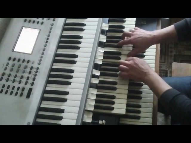 Klaus Wunderlich Medley Cha-Cha- played by Konrad Paulus my Homage to the Genius at Hammond
