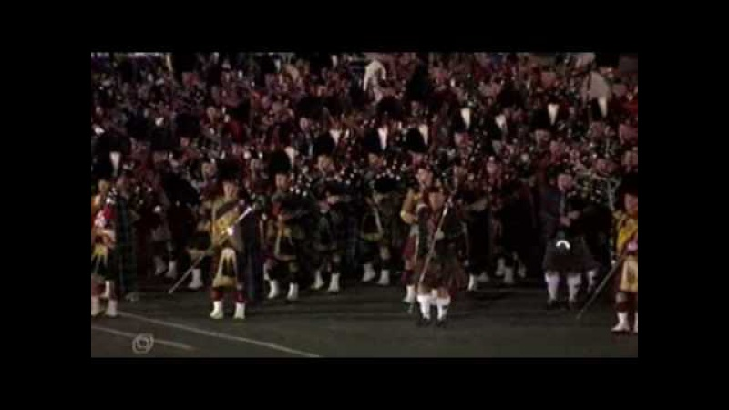 Red Square Parade- Scottish Bagpiper's Corps(Part 1)