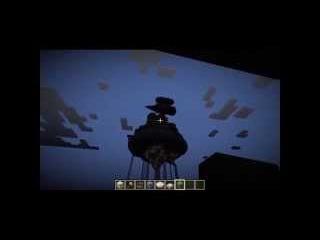 ВИА Пламя - Квадратный человек , minecraft 1.5.2