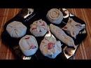 КАК ЛЕПИТЬ МАНТЫ 7 СПОСОБОВ Как красиво оформить стол How to sculpt dumplings 7 Ways