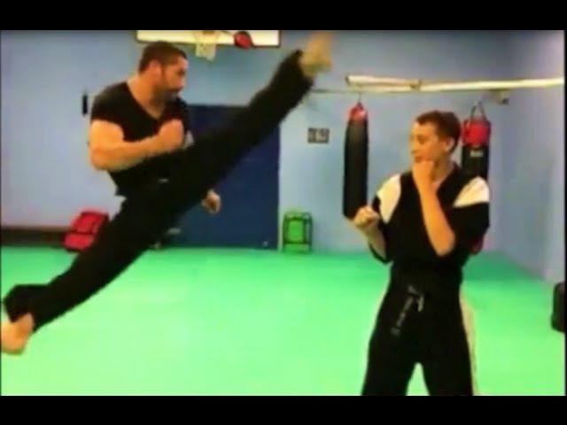 Scott Adkins - TAEKWONDO Training Motivation