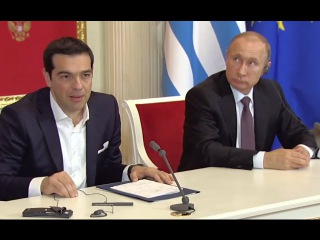 СТРАННАЯ Пресс конференция с В. Путиным!!! 08.04.2015