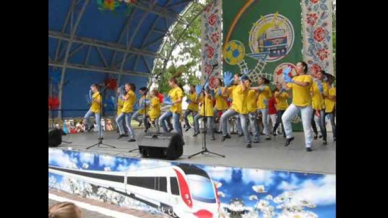 Харківський ансамбль танцю Родзиночка (танок до Євро-2012)