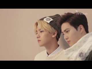[VIDEO] EXO WINTER IVYCLUB MAKING FILM INTRO ver.