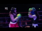Jemma Thomas vs. Tasha Carway 1st Dec 2013  boxing
