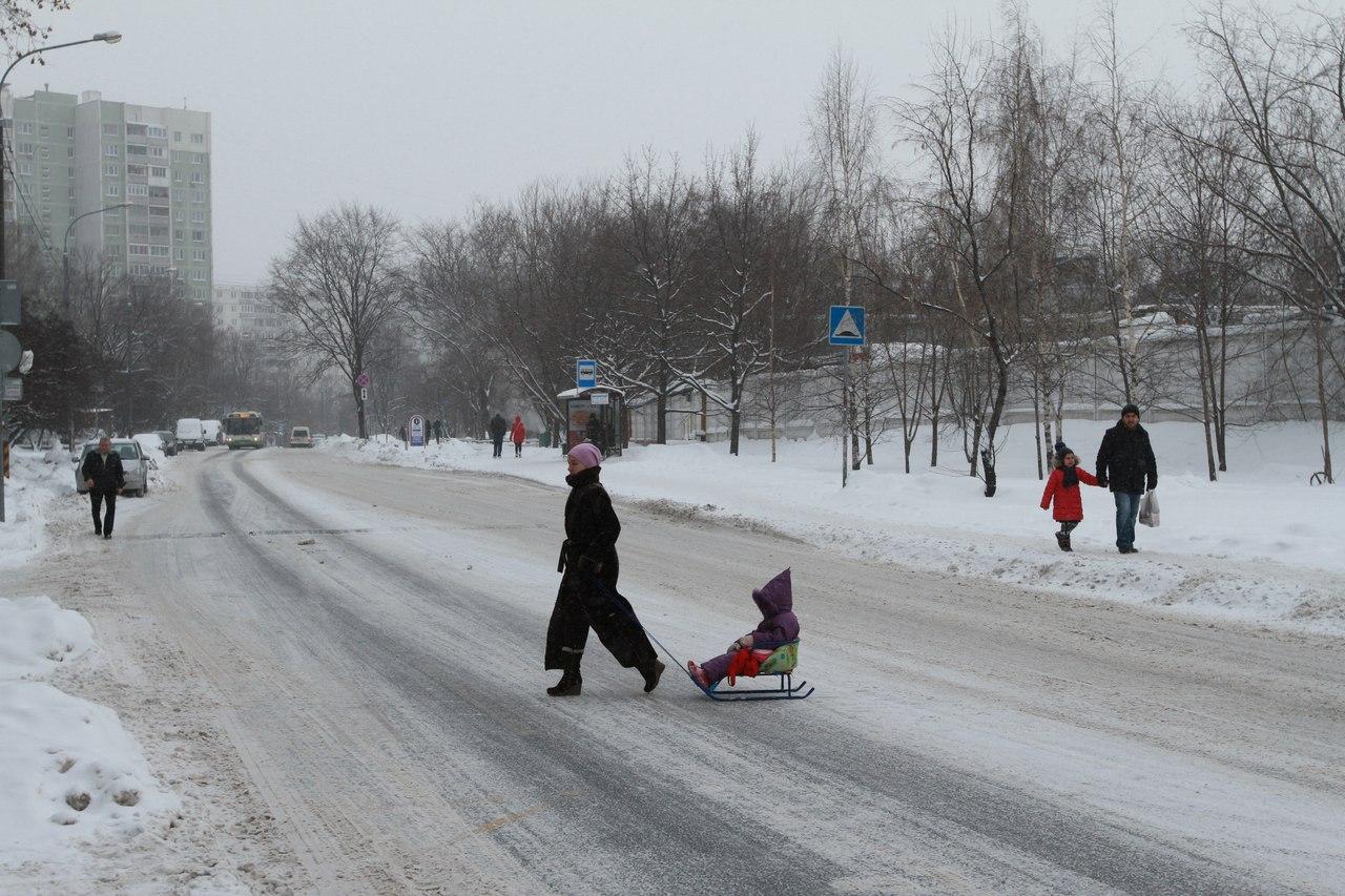 В Москве установилась аномальная погода: ожидается ледяной дождь