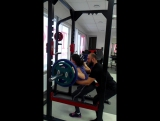 Классический присед 80 кг (Танюшка Козак, Тренер - Золотарев Стас)