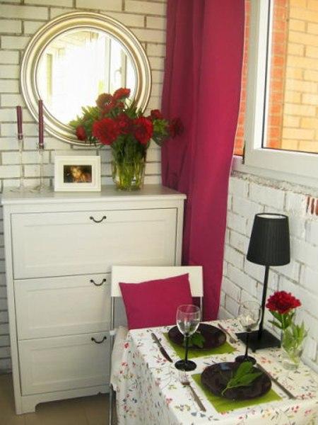 Романтический балкон