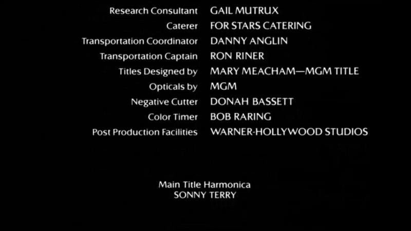 «Crossroads» / Перекрёсток (1986) [Retro VHS to HD] Full film | Columbia Pictures. Ярослава Турылёва (© ВПТО «Видеофильм»)