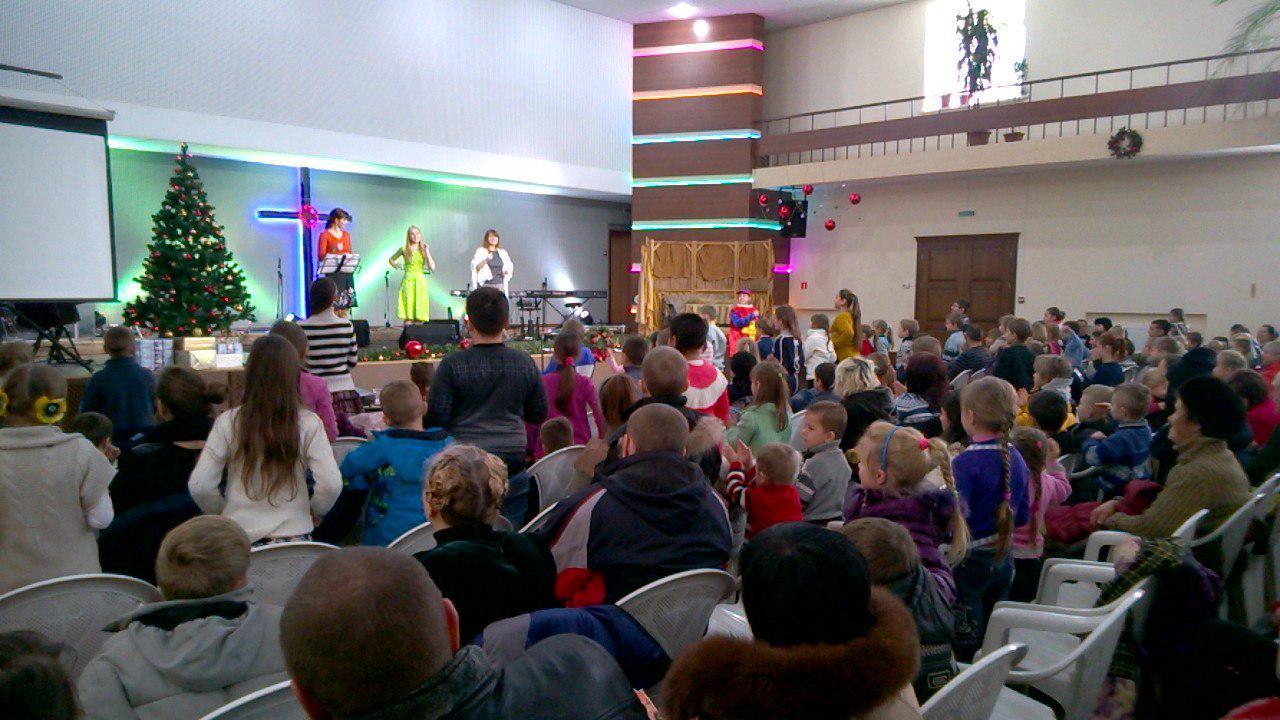 Рождественский праздник для детей
