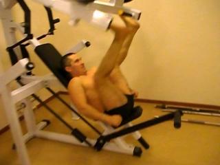 Тренинг с Димой Кокориным - Stallone. Урок №3. Закачиваем ноги.