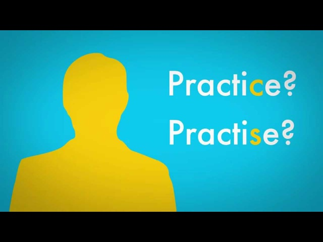 Kids' English | Practise or practice: what's the difference?