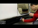 Японская полироль жидкое стекло для защиты пластика и резины.